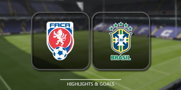 Czech Republic Vs Brazil – Highlights