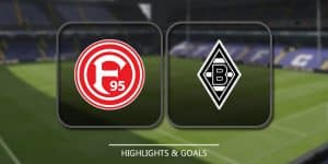 Fortuna Düsseldorf Vs Borussia Mönchengladbach – Highlights