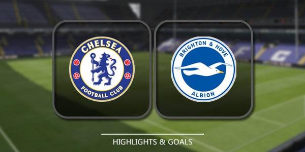 Chelsea Vs Brighton – Highlights