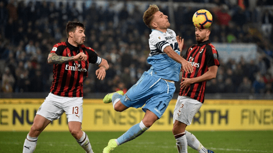 Футболна прогноза: Лацио – Милан (04/07/2020) ( Спечелен )