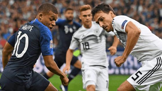 Франция срещу Германия в мач достоен за финал ( Спечелен )